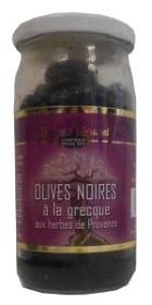 Bild på Eugène Brunel Svarta Oliver med Provencalska Kryddor 230 g