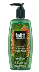 Bild på Aloe Vera & Tea Tree Hand Wash 300 ml