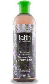 Bild på Lavender & Geranium Shower Gel 400 ml