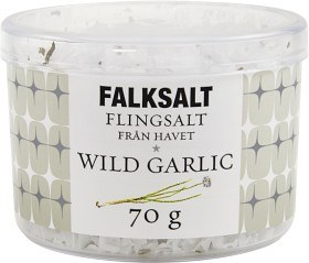 Bild på Falksalt Flingsalt Wild Garlic 70 g