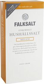 Bild på Falksalt Finkornigt Hushållssalt med Jod 1 kg