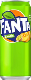 Bild på Fanta Exotic Burk 33 cl inkl. Pant