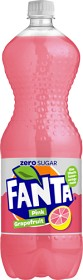 Bild på Fanta Zero Pink Grapefruit PET 1,5 L inkl. pant