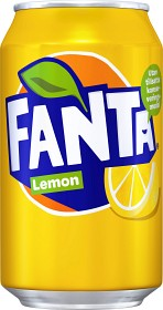 Bild på Fanta Lemon Burk 33 cl inkl. pant