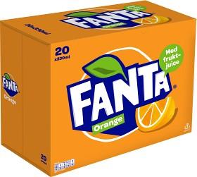 Bild på Fanta Orange Burk 20x33 cl inkl. Pant