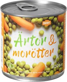 Bild på Favorit Ärtor & Morötter 400 g