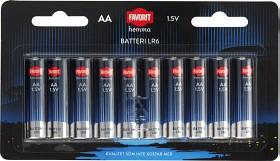 Bild på Favorit Batteri AA 10 p