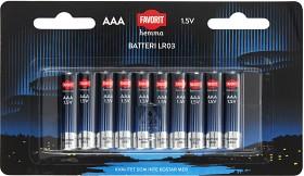 Bild på Favorit Batteri AAA 10 p