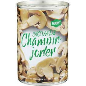 Bild på Favorit Champinjoner Skivade 290 g