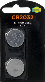 Bild på Favorit CR2032 Lithium Batteri 2 p