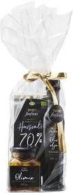 Bild på Favorit Finfina Presentförpackning Olivolja Choklad Olivmix