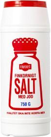 Bild på Favorit Finkornigt Salt med Jod 750 g