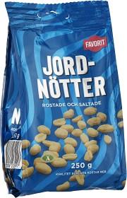 Bild på Favorit Jordnötter 250 g
