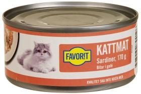 Bild på Favorit Kattmat Sardiner i Gelé 170 g