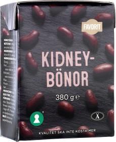 Bild på Favorit Kidneybönor 380 g