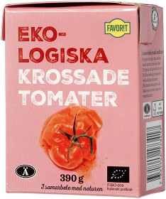 Bild på Favorit Krossade Tomater 390 g