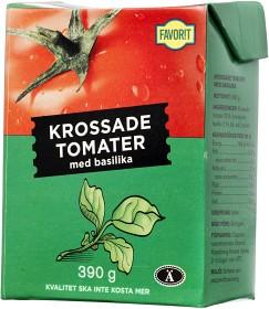 Bild på Favorit Krossade Tomater med Basilika 390 g