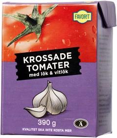 Bild på Favorit Krossade Tomater med Lök & Vitlök 390 g