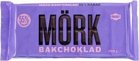 Bild på Favorit Mörk Bakchoklad 55% 200 g
