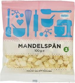 Bild på Favorit Mandelspån 100 g