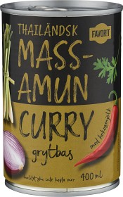 Bild på Favorit Massamun Curry Grytbas 400 ml