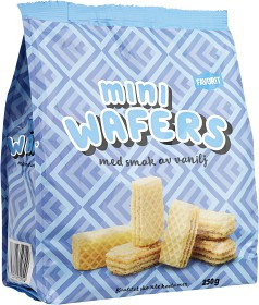 Bild på Favorit Mini Wafers Vanilj 250 g