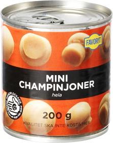 Bild på Favorit Minichampinjoner Hela 200 g
