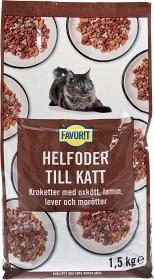 Bild på Favorit Oxkött, Lamm, Lever & Morötter 1.5 kg