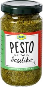 Bild på Favorit Pesto Basilika 190 g