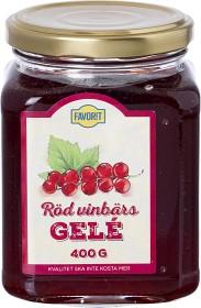 Bild på Favorit Röd Vinbärsgelé 400 g