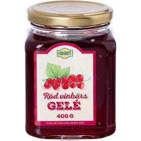 Bild på Favorit Röd Vinbärsgelé 400g