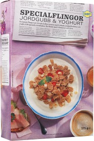 Bild på Favorit Specialflingor Jordgubb & Yoghurt 375 g