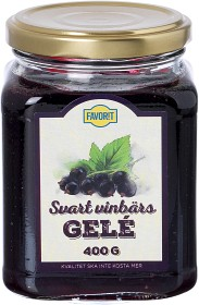 Bild på Favorit Svart Vinbärsgelé 400 g