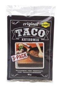 Bild på Favorit Taco Kryddmix 3 p