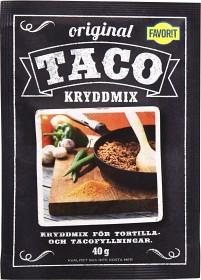 Bild på Favorit Taco Kryddmix 40 g