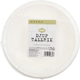 Bild på Favorit Tallrik Djup Papper 19 cm 50 p