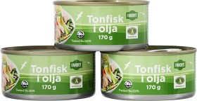 Bild på Favorit Tonfisk i Olja 3x170 g