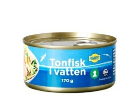 Bild på Favorit Tonfisk i Vatten 170 g