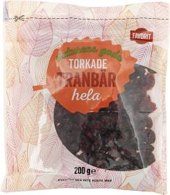 Bild på Favorit Torkade Tranbär 200 g