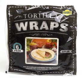 Bild på Favorit Tortilla Wraps 6 p