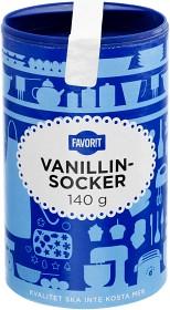Bild på Favorit Vanillinsocker 140 g