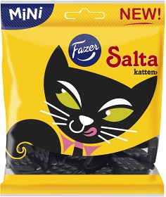 Bild på Fazer Salta Katten Salmiak 80 g