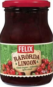 Bild på Felix Rårörda Lingon 410 g
