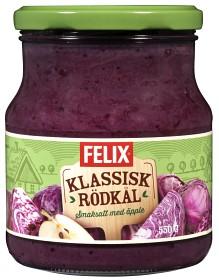 Bild på Felix Klassisk Rödkål 550 g