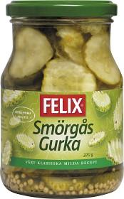 Bild på Felix Smörgåsgurka skivad 370 g