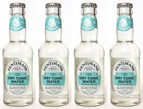 Bild på Fentimans Dry Tonic Water 4x200 ml