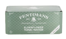 Bild på Fentimans Elderflower Tonic Water Burk 8x150 ml