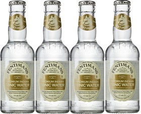 Bild på Fentimans Tonic Water 4x200 ml