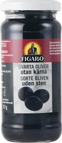 Bild på Figaro Svarta Oliver Utan Kärnor 240 g