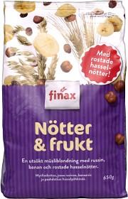 Bild på Finax Müsli Nötter & Frukt 650 g
